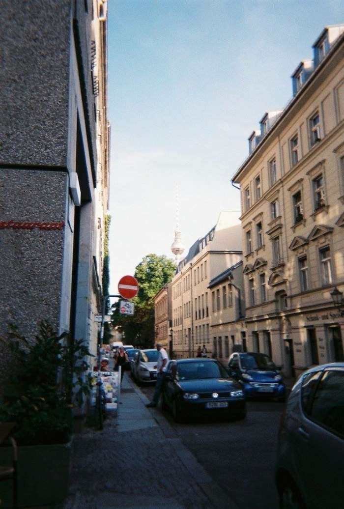 Writing Berlin